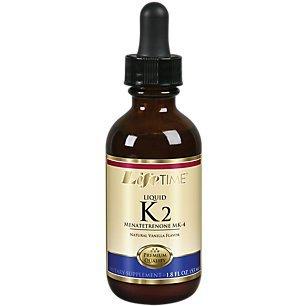 Lifetime Liquid K2 Drops Vanilla, 1.8 Fluid Ounce For Sale