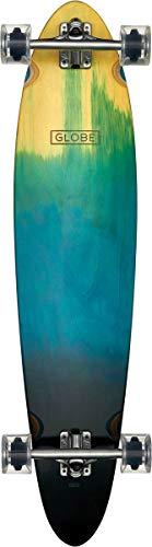 Longboard Pinner - GLOBE Skateboards Pinner Classic Longboard Complete Skateboard, Blue Fade Dye