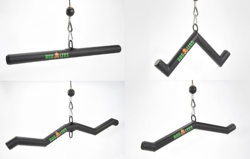 Cable Workout Bars for Arms HOG LEGS 'Rack' by HOG LEGS Gym Cable Bars
