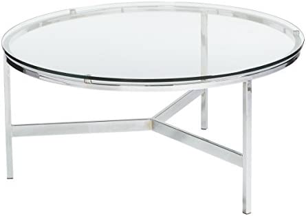 Sunpan Modern Flato Round Coffee Table