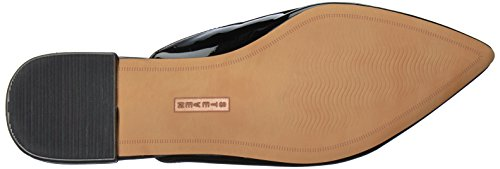 Steve Madden Steven by Women's Valent Slip-on Loafer Black Patent RQeYym1QcY