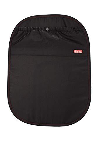 Diono Stroller Lock - Diono Stuff 'n Scuff, Seatback Protector and Organizer for Kids in The Car, Black