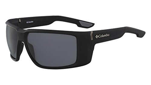 Sunglasses Columbia TITAN RIDGE 002 MATTE BLACK-SMOKE