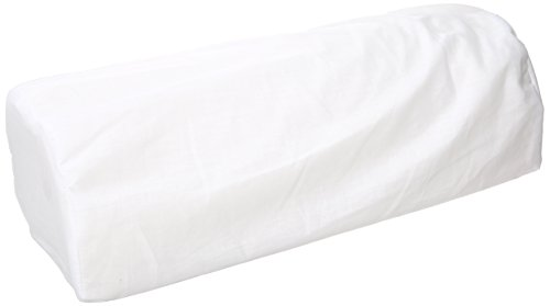 (Hermell Products Memory Foam Half Roll Root Rest, White)