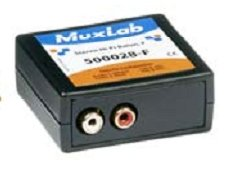 Muxlab Stereo Hi-Fi Balun with Color Coded RCA Female Plugs, 2 Pack