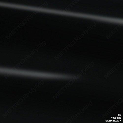3M S12 SATIN BLACK Vinyl
