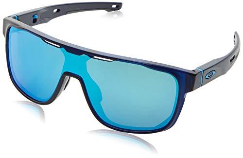 ef556dd201 Oakley Men s Crossrange Shield Non-Polarized Iridium Rectangular Sunglasses