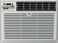"""GE AEM12AV 21"""" Liveliness Star Qualified Air Conditioner with 12,000 BTU Cooling Capacity Light Cool Gray"""