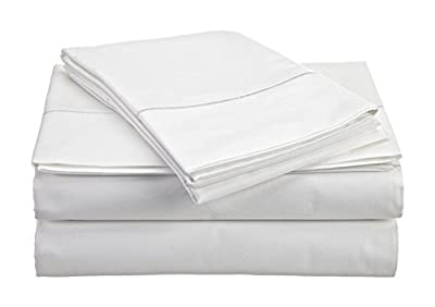 Comfy Sheets Luxury 100% Egyptian Cotton - Genuine 1000 Thread Count 4 Piece Sheet Set-Fits Mattress Up to 18'' Deep Pocket
