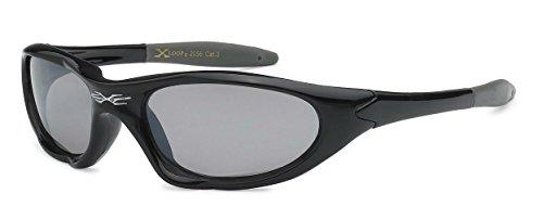 X-loop Kids New Boys Sports Trendy Sleek Sunglasses- Many Colors Available (Sport - Ski Sunglasses Childrens