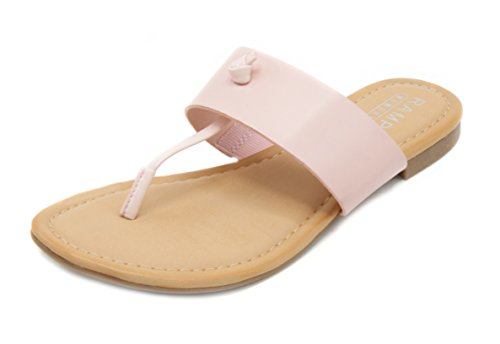 Insole Knot Slip Memory Blush Bar Women's On Foam Rampage Sandal Paddy T Thong 8pXZw