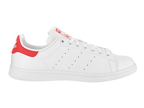Adidas Heren Originelen Stan Smith Sneaker Wit Rood
