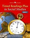 Timed Readings Plus in Social Studies Book 6, McGraw-Hill - Jamestown Education, Glencoe/ McGraw-Hill - Jamestown Education, 0078458048