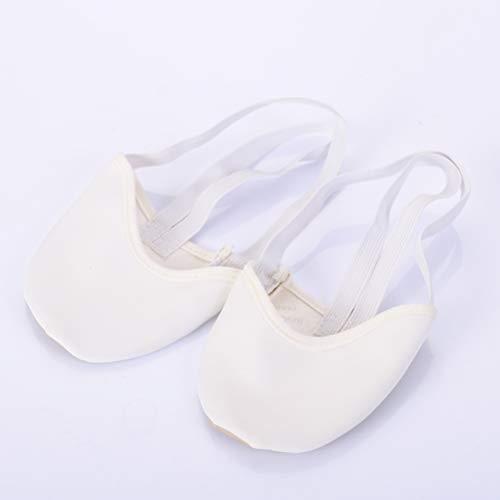 Paar Healifty mit Gummibänder 1 Größe L Ballettschläppchen Tanzschuhe Weiß Ballettschuhe 8ZqwnR48f