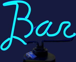 (Neonetics Business Signs Bar Neon Sign Sculpture by Neonetics)