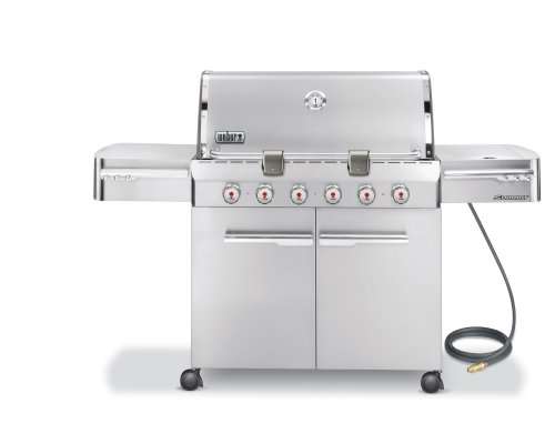 Weber 1850001 Summit Natural Stainless