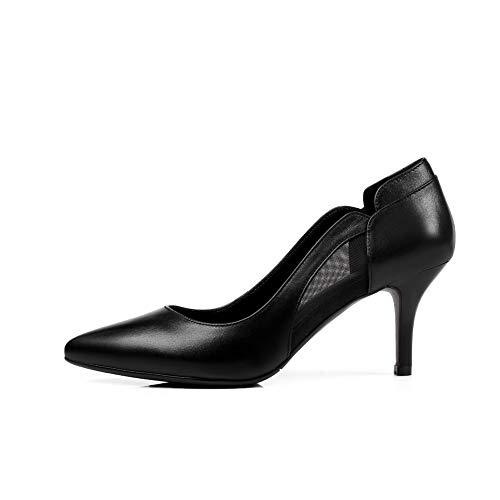 Noir Femme Compensées Sandales AdeeSu SDC05996 xqTzf6w6I