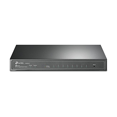 TP-Link Jetstream 8-Port Gigabit Smart Switch - T1500G-8T