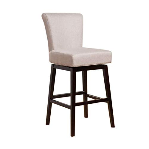 Christopher Knight Home Tristan Wheat Fabric Swivel Counter Stool