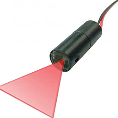 Quarton Industrial 3D-Scanner Line Laser Module VLM-650-30 LPT30-D60 (Fan Angle : 60°)