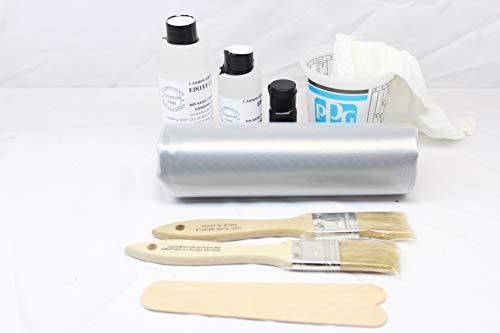 Real Carbon Fiber Fabric Repair Kit 6