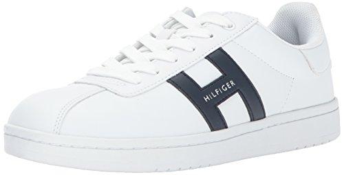 Tommy Hilfiger Mens Lyor Sneaker Bianco