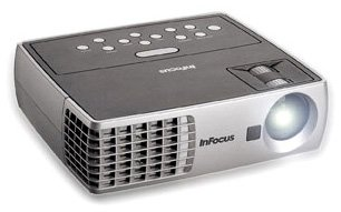 InFocus IN1102 Ultra Mobile Widescreen DLP Projector, 2.75 lbs, WXGA, 2200 Lumens ()