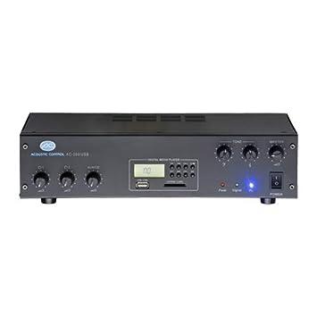 ACOUSTIC CONTROL AC-300 USB Amplificador PA USB 2 Ent. Micro/Linea: Amazon.es: Instrumentos musicales