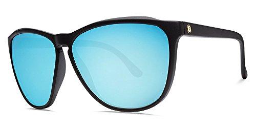 Electric Encelia Sunglasses, Matte Black-Ohm Sky Blue Chrome, - Electric Sunglasses Womens