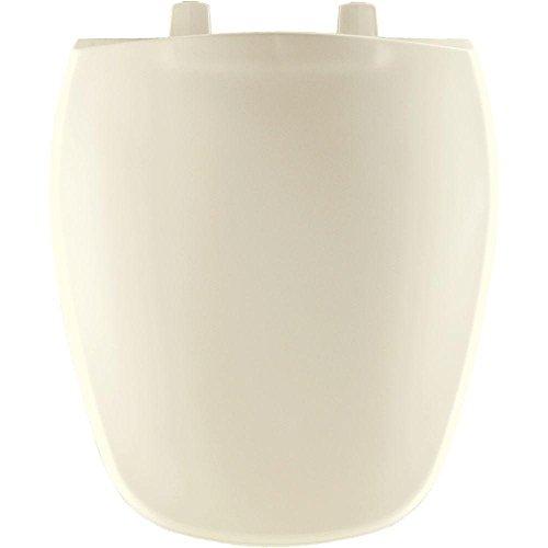 Bemis 1240200346 Eljer Emblem Plastic Round Toilet Seat Biscuit/Linen