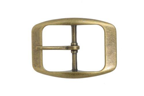 Brass Womens Belt Buckle - 1 1/4
