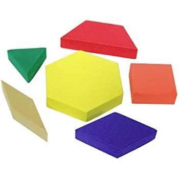 Teacher Created Resources Foam Pattern Blocks (20612)