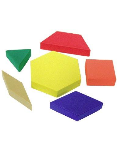 Amazon Teacher Created Resources Foam Pattern Blocks 60 Stunning Pattern Blocks