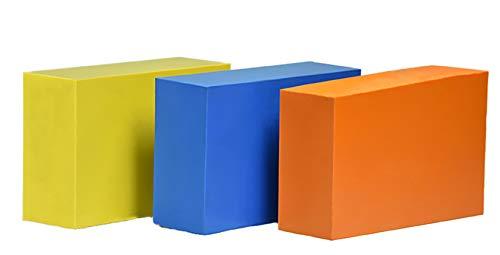 Colored Bar - ABS Plastic Bar - 3 Colored Blocks - 2