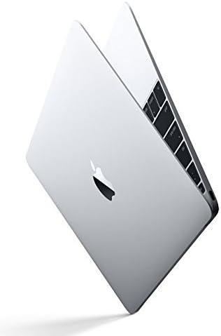 Apple MNYH2LL/A 12in MacBook Laptop – Silver (Retina Display, 1.2GHz Intel Core m3 Dual Core Processor, 8GB RAM, 256GB, Intel HD Graphics, Mac OS (2017 Newest Version) (Renewed)