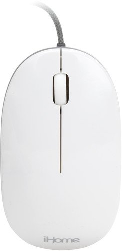 iHome   Wired Mac Mouse - White (IMAC-M100W)