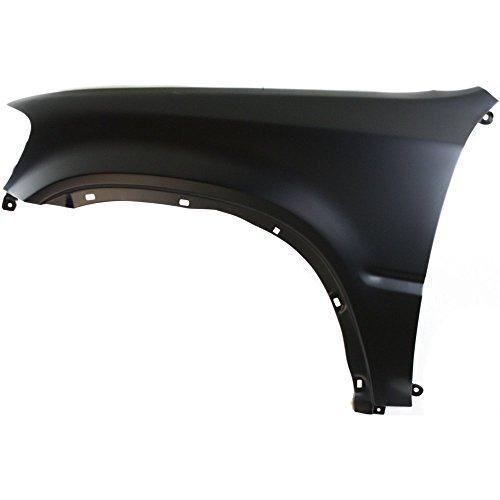 (Front Fender Steel Primed Driver Side LH For 1997-2001 Honda CR-V)