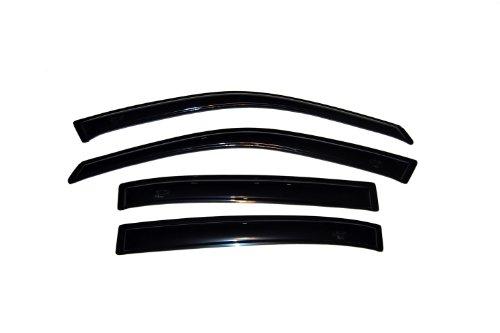 (Auto Ventshade 94621 Original Ventvisor Side Window Deflector Dark Smoke, 4-Piece Set for 2004-2008 Chevrolet Malibu)