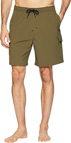 - Quiksilver Men's Explorer Walkshort Shorts, Ivy Green, L