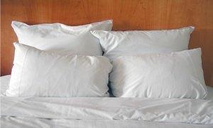 Set of Four Hypoallergenic Microfiber Pillows (King)