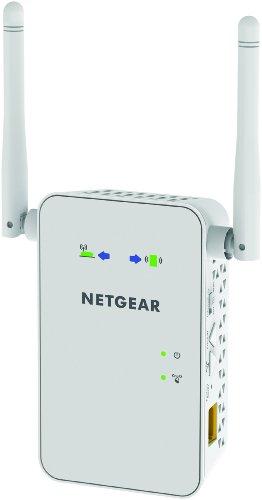 NETGEAR AC750 Dual Band Gigabit Wi-Fi Range Extender (EX6100)
