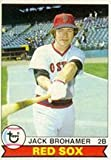 1979 Topps Regular (Baseball) Card# 63 Jack Brohammer of the Boston Red Sox ExMt Condition