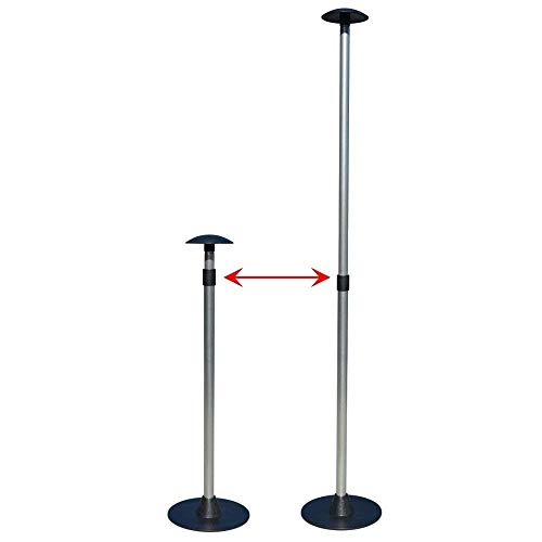 Boat Cover Support Pole, Aluminum ABS, 3-Stage Extension Adjustable (22.5