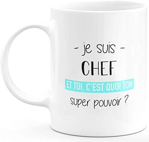 Mug Chef Super Pouvoir – Cadea…
