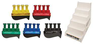 Alimed Digi-Flex LiTE - Set of 5 (1 each: yellow, red, green, blue, black) with Plastic Stand