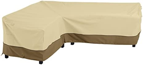 Classic Accessories Veranda L-Shaped Sectional Sofa Cover, Left Facing, Large