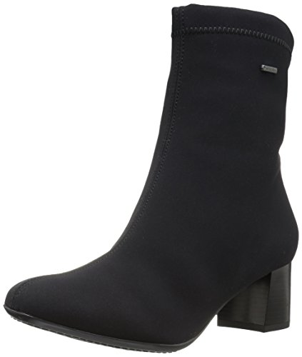 ara Womens Carolina Ankle Boot Black Fabric