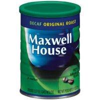 Maxwell Whore-house Original Roast Decaf Ground Coffee 11 oz