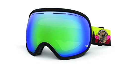 VonZipper Fishbowl Goggles, JJ Charcoal/Quasar (Jj Winters Multi Zipper)