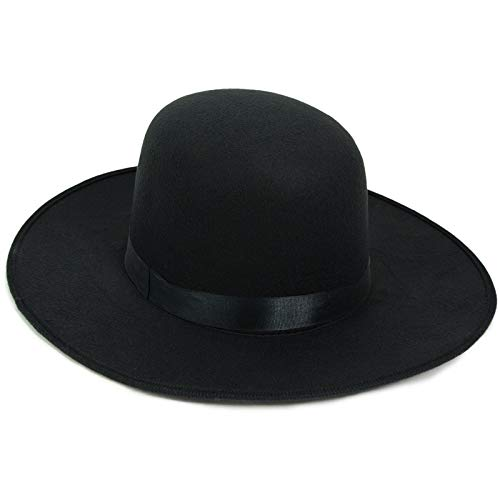 - Deluxe Western/Amish Black Hat